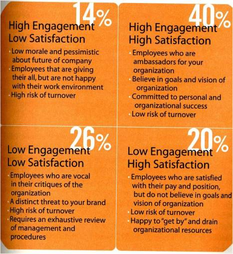satisfaction versus engagement